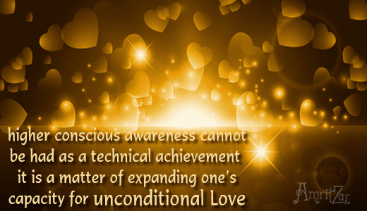 consciousness equals Love