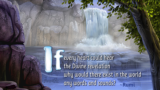 hear Divine revelation - Rumi