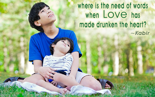 Love made heart drunk - Kabir