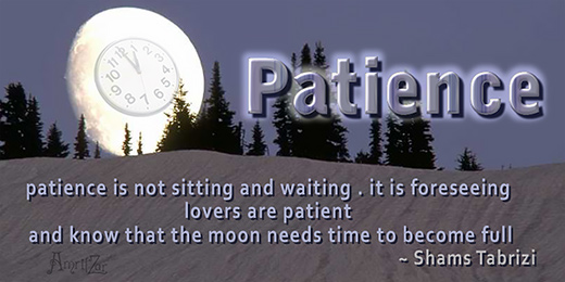 patience - Shams Tabrizi