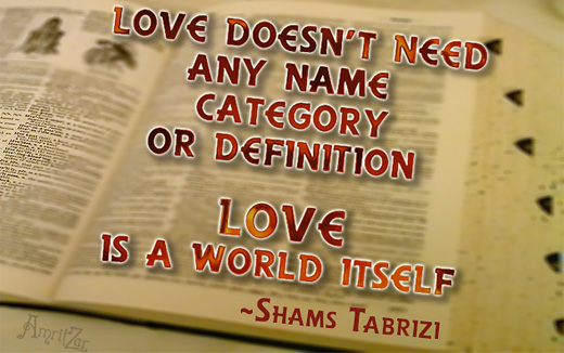 undefined Love - Shams Tabrizi