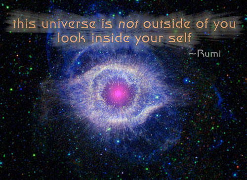 universe in you - Rumi